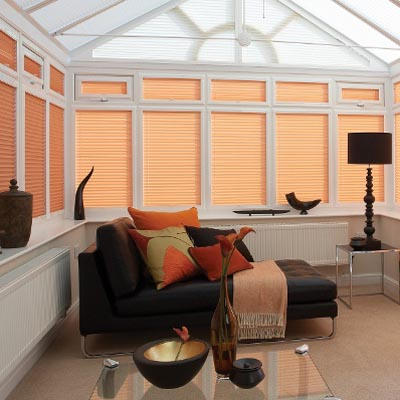 Pleated blinds from All Blinds of Bishops Stortford